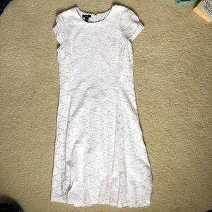 white lace dress. size 12